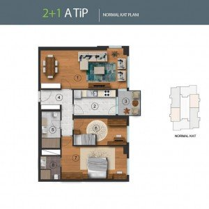 istanbul-residential-and-commercial-projects-plans 2+1