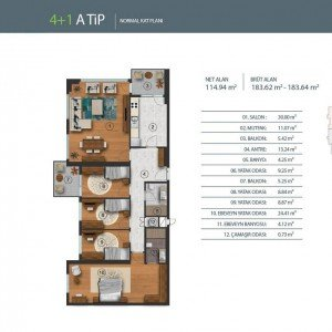 istanbul-residential-and-commercial-projects-plans 4+1